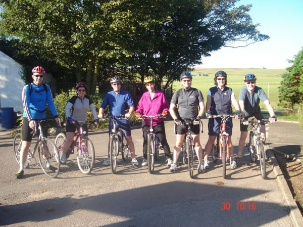 Catterline Charity Cycle Ride