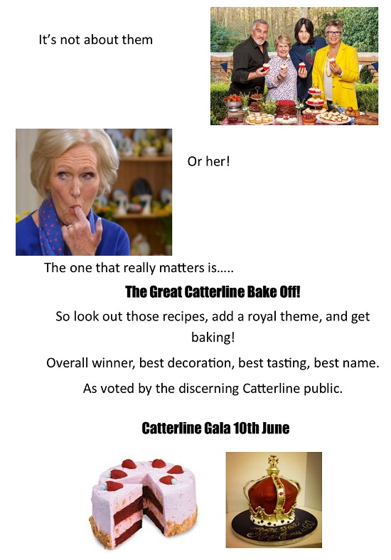 Catterline Gala Bake Off