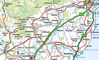 Tour de Catterline 2015 50 Mile Route