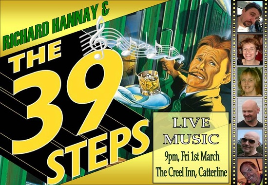 Richard Hannay & The 39 Steps