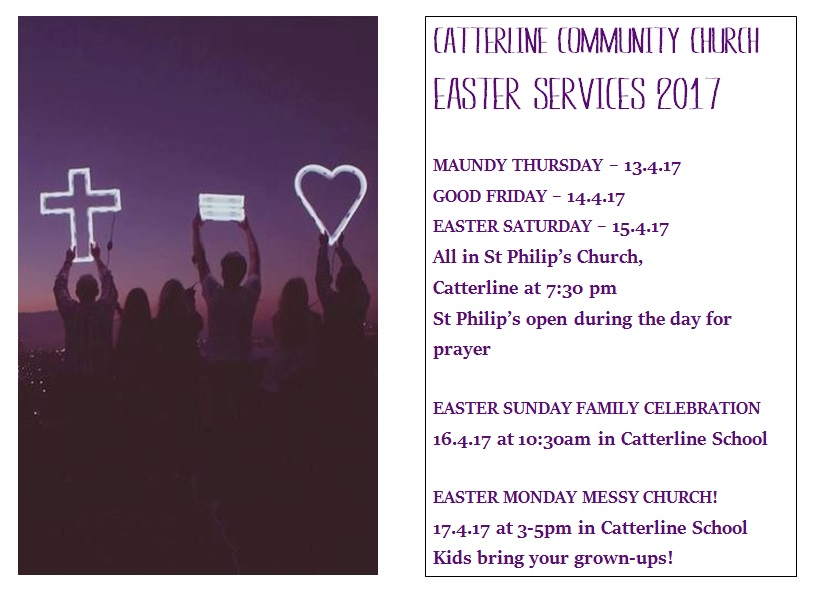 Easter Services at Catterline Community Church